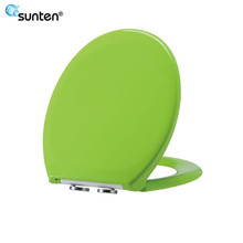 Bathroom Product Urea Material Green Soft Close Toilet Seat