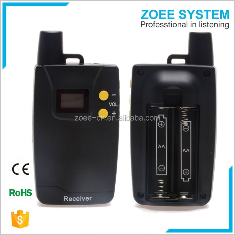Communication system tour system/wireless audio tour guide system/radio guide system for visiting