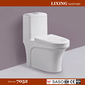Siphon jet one piece toilet