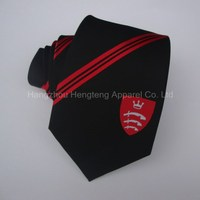 High Quality Polyester Tie With Custom