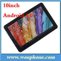 Wholesale Android 4.0.4 10inch two Camera N101 Dual Core Tablet PC 32GB+1GB+1.5GHz