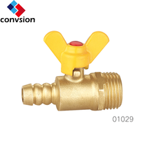 best selling brass natural gas ball valve with limit switch