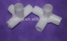 Three-way plastic joiners