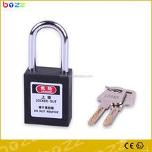 BD-G01 MOST POPULAR!!!BD-G01 Steel short shackle 38mm key alike key differ master key Safety Padlock