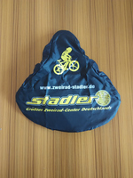 Promotional Top Quality Logo Print 100% Waterproof Bike Saddle Seat Cover