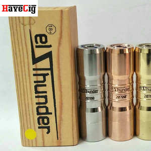 New version for Elthunder mod clone El thunder v2 mech hot in Russia Elthunder 20700 mechanical mod restock