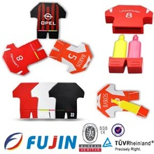 Football shirt shape highlighters pen for newspaper advertising