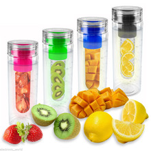 Toofeel high quality NEW colorful Infuser Water Bottle Fruit Infusion Detox Bottle Water
