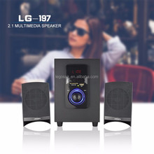 wholesale commercial bluetooth vibration pc 2.1 speaker