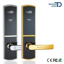 New Digital Electronic Rfid Card Key Hotel Door Lock with Electronic Key