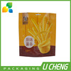 Custom printing heat seal french fries packaging bags