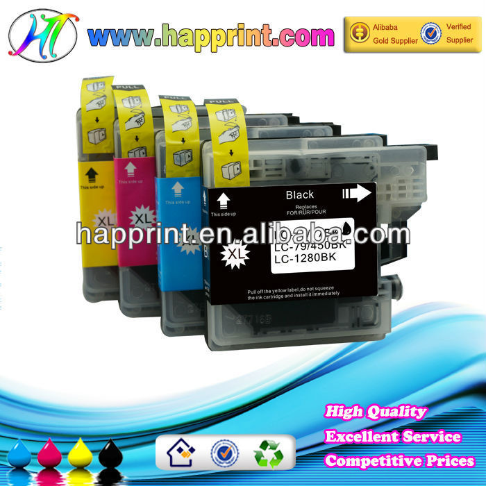 For Brother ink cartridge LC1280XL printer cartridges for Brother