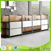 Top Quality Office Furniture Metal Frame Wooden File Cabinet XFS-M4043H1