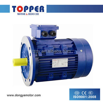 MS series three phase Aluminum housing asynchronous 50hz electric motor