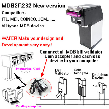 MDB coin validator,bill acceptor Interface for kiosk machine