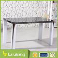 round metal frame double layer dining table