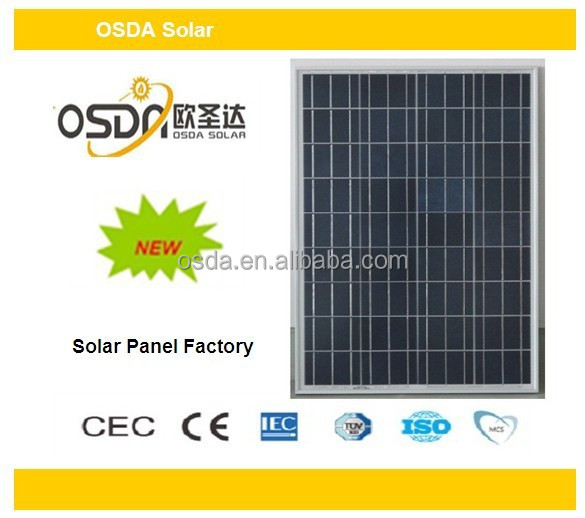 solar 120w poly panel and 120W solar module with TUV certificate