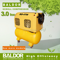 China Factory Direct Supply BALDOR 3KW BD-4TW Belt drive Scroll Air Compressor