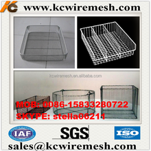 Manufacturer!!!!! KANGCHEN Rustic Wire Storage Recycled Newspaper Basket