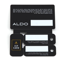 Combo Key Cards Mini Key tag Card for Loyalty Promotion System