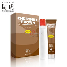 OEM Safe No Ammonia No Peroxide Hair Color ( Beauty Chestnut Brown Hair Shampoo)