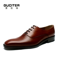 Purely manual High-end men dress shoes