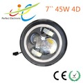 Long warranty Jeep auto 4x4 accessories, 7 Inch LED Headlight CE Approved Round Head Light