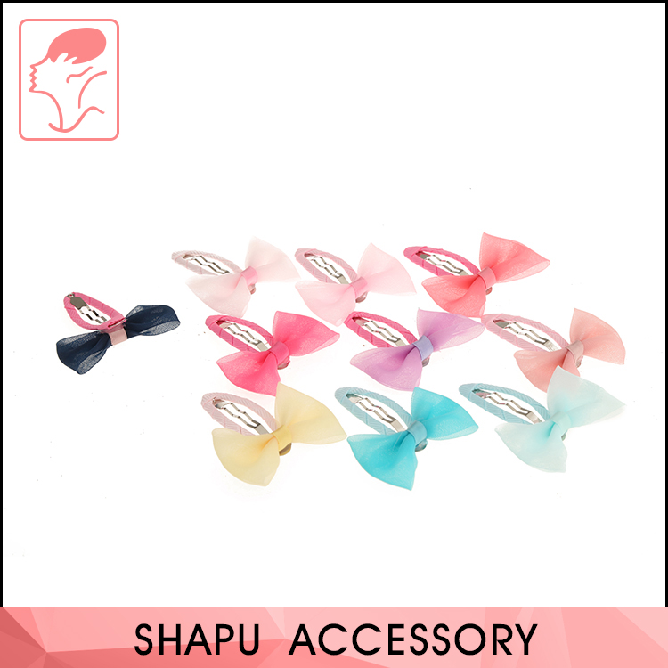 Hot sale decorative kids hair accessory fashion hairpin hair clips