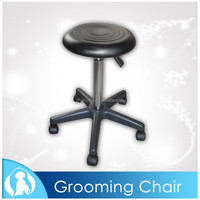 High Quality Round Pet Grooming Chair with Wheels N-402