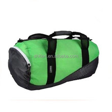 Kit Bag Football Sports Holdall Gym bag Green Black Luggage bag