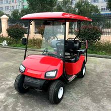 2+2 seater folding electric golf cart for sale High quality