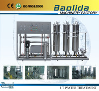 RO-1000L/h Professional design mineralized water production plant
