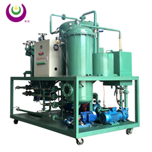 Automatic backwashing decoloring system used black lubricate oil recycle purifier machine