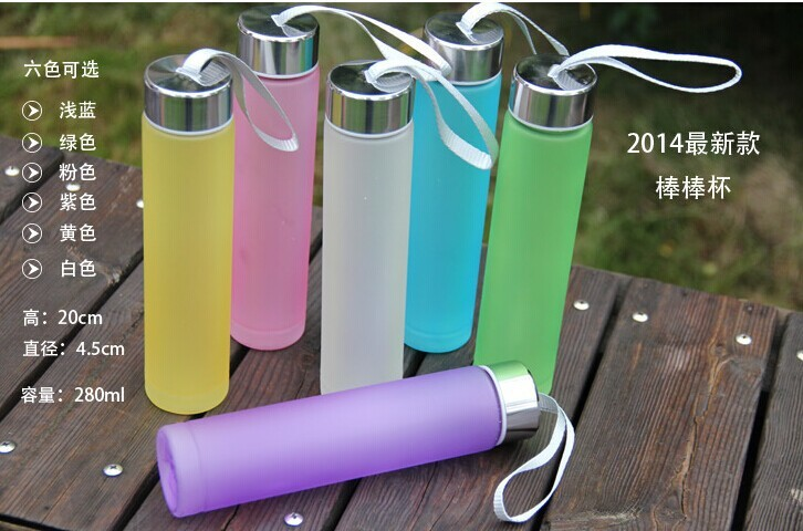 Newest Hot Products Six Color Available Plastic Water Bottle In Stock