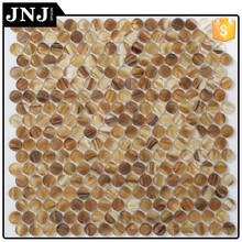 Interior Decorative Floor Pattern Pebble Mosaic