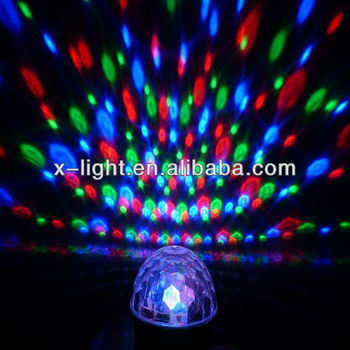 Wonderful Crystal Magic Ball Laser Stage Light Party Disco DJ Bar Lighting Show