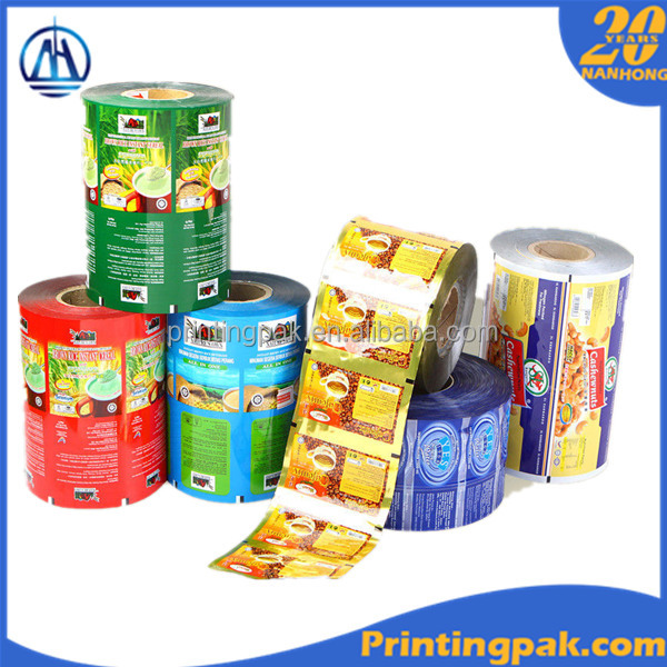 plastic cup sealing lid film,juice cup sealing film,cup lid sealing film