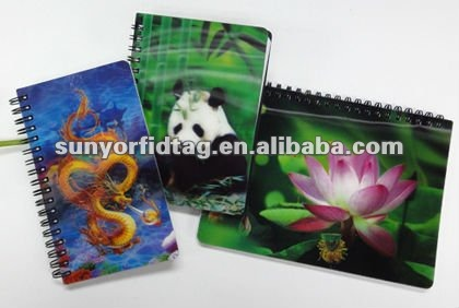 3D Lenticular Book Cover with Custom Design