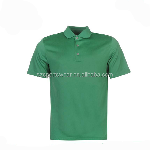 Blank Yellow Green Color Dry Fit Men Custom Polo Shirts No Minimum