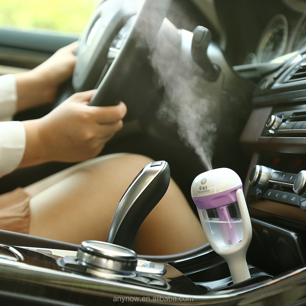 Portable charger interface 12V mini car humidifier for car use