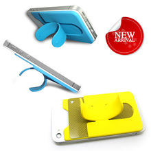 Wholesale Custom One Touch U silicone mobile phone stand