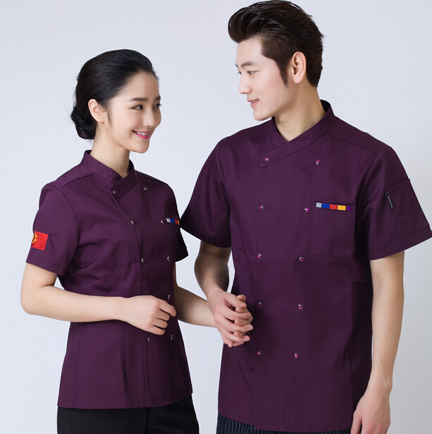 custom factory price high quality fashion design hotel reception uniform for waitress