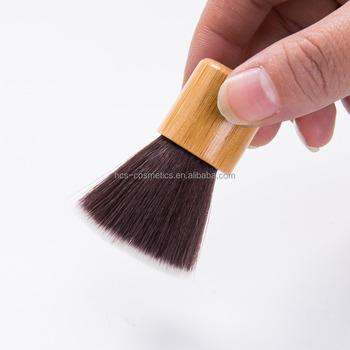 Popular Private Label Flat Powder Brush Kabuki Makeup Brush for Wholesale