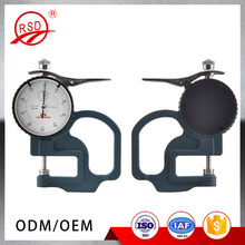 Length 0-10*30mm measuring instrument civil engineering waterproof material dial thickness gauge