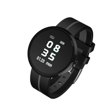 OLED display smart body fit heart rate monitor watch with blood pressure, pedometer