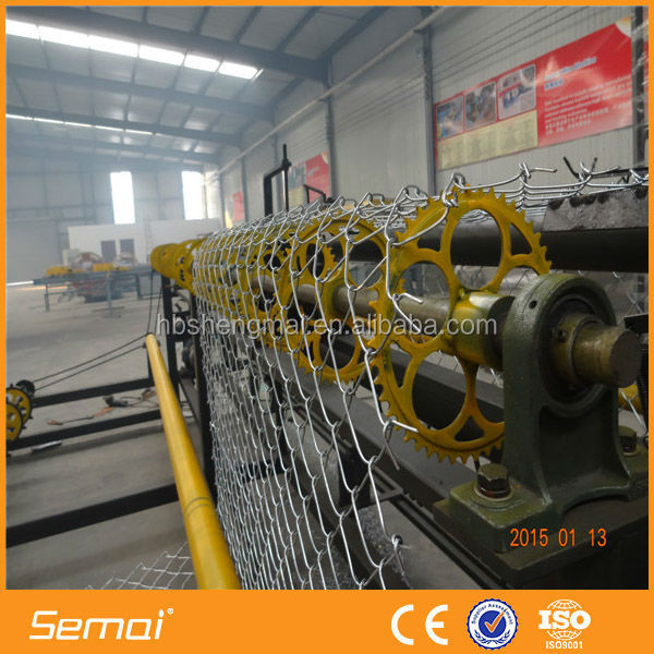 High Efficiency Fully Automatic Chain Link Fence Weaving Machine