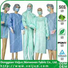 PP SMS Nonwoven fabric for medical gown