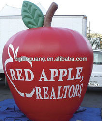 giant advertising inflatable apple
