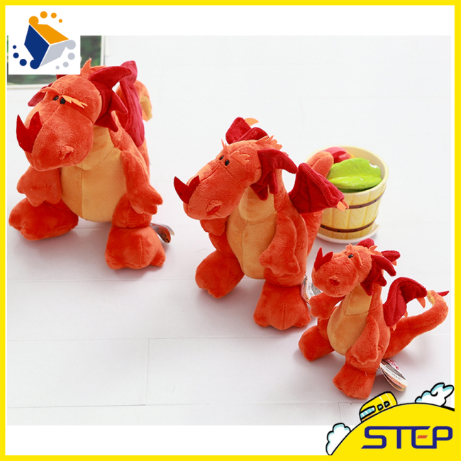 Red Lucky Plush Dragon