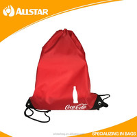 Printing promotion gym sack drawstring bag